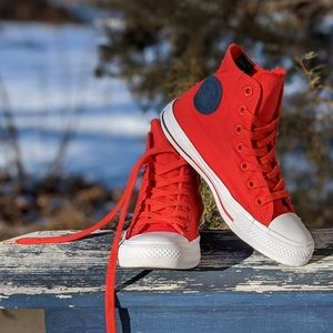 Converse All Star Counter Climate Orange High Tops